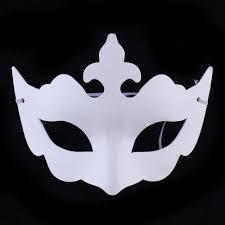 cheap masks cheap diy painting white paper masks venetian party masquerade masks