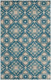 blue rugs aqua navy safavieh rug collection