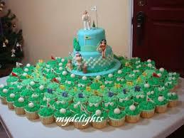 golf theme 50th birthday cake u0026 cupcakes cakecentral com