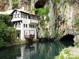 Incredible Houses Divisare The House Near The Water Blagaj Bosnia And Herzegovina