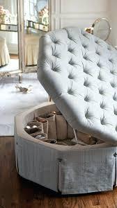 Shoe Chair Canada Ottoman Storage Round Ottoman Natural Bench Canada Storage Round