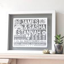 1st wedding anniversary gift for 1st wedding anniversary gift 100 images the 25 best 1st