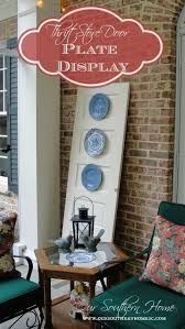Southern Home Decorating Ideas 185 Best Decorating With Plates Images On Pinterest Hanging