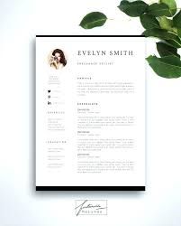 Resume Elegant Resume Templates by Elegant Resume Template Free Download Minimal Creative Templates