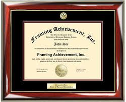 certificate frame diploma frames engraved certificate frame degree logo