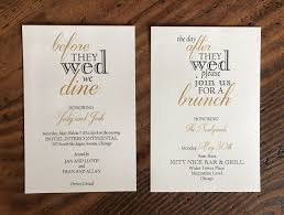 wedding brunch invitation brunch invitations erickson design