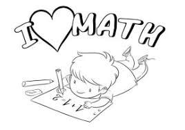 math coloring u0026 coloring book
