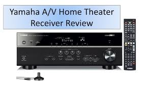 yamaha 5 1 home theater yamaha 5 1 channel a v home theater receiver review youtube