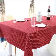 cotton tablecloth korean classic wave rectangular tablecloths