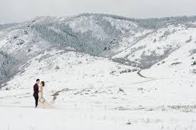 Weddings In Colorado A Snowy Spring Wedding In Colorado Luxe Mountain Weddings Magazine