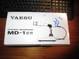 yaesu md 1 c8 microphone nos worldwidedx radio forum