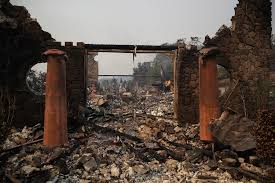National Wildfire Activity by Drought And Heat Worsened By Humans Help Fuel California Fires