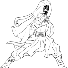 lego star wars darth maul coloring pages printable darth maul