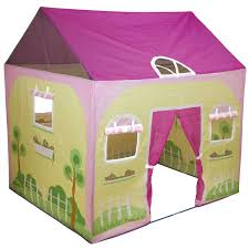 modern fresh nuance of the indoor childrens tent that has green