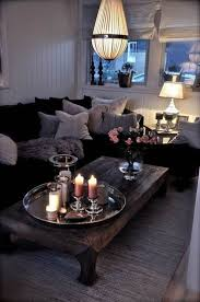make a living room look larger coffee tables living
