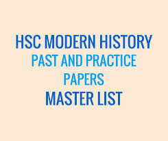 hsc modern history past papers and practice papers