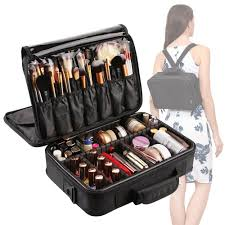 makeup bag snagshout vasker 3 layers makeup bag travel cosmetic