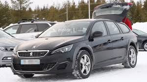 peugeot america 2018 peugeot 508 spied hiding underneath 308 wagon mule