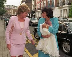 princess diana helped her friend lay her stillborn baby to rest at