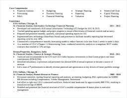 Resume Objective Financial Analyst Financial Modeling Resume 33 Accountant Resumes In Doc Free
