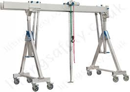 Memory Foam Manrides Alloy Gantry U0027a U0027 Frame With Twin Parallel Top Beams And Castors