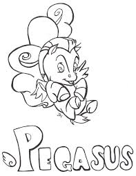pegasus coloring pages coloringsuite com