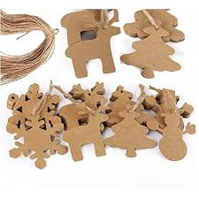 cardboard ornaments