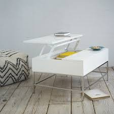 Open Coffee Table Lacquer Storage Coffee Table West Elm