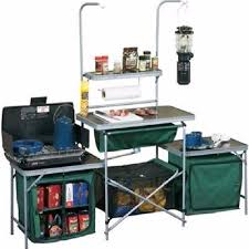 Coleman Camp Kitchen With Sink by Standard Camp Kitchen Portable Outdoor Folding Garden Table