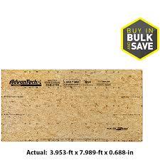 shop advantech flooring 23 32 cat ps2 10 tongue and groove osb