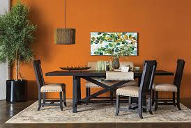 orange dining room chairs dining room classy modern living room furniture dining table