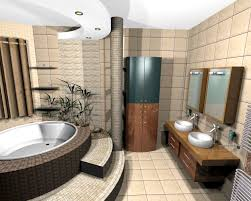 Small Bathroom Ideas For Apartments by White Laminate Patterned Floor Dark Green Painting Wall Small