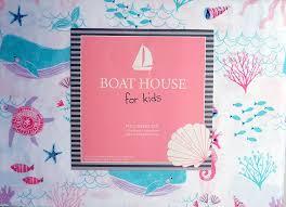 amazon com boat house girls 4 piece full sheet set 100 cotton