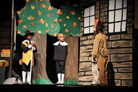 second graders bring humor and history to thanksgiving play