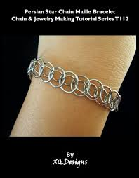 chain link bracelet patterns images Persian star chain maille bracelet chain jewelyr making tutorial jpg