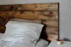 how to make a king size headboard out of wood home design ideas