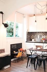 coin bureau dans salle à manger appart porte des lilas 50 m2 avec terrasse decoration and
