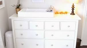 dramatic baby changing table dresser with hutch tags baby
