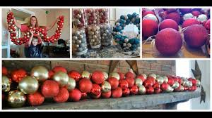 our garland with ornaments