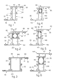 patent ep0460514a1 homogeneous set of sections for aluminium