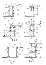 Aluminium Home Decor Patent Ep0460514a1 Homogeneous Set Of Sections For Aluminium