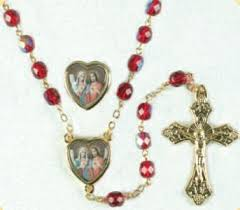 sacred heart rosary st michael s books gifts sacred heart immaculate heart