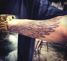 tattoos of wings for men on wrist tattoo ideas pinterest