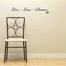 Live Love Laugh Home Decor Live Laugh Dance Wall Decals Quotes Sayings Art Vinyl Lettering