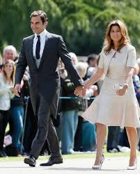 St Mark S Church Berkshire Photo Swiss Tennis Player Roger Federer And His Wife Mirka Arrive