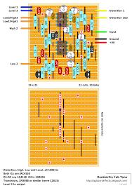 guitar fx layouts danelectro fab tone
