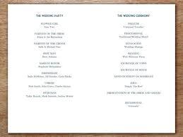 Wedding Program Printable Wedding Program Starry Night U2013 E M Papers
