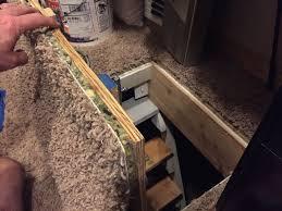 Interior Crawl Space Door 14 Secret Crawlspace Access Door 4 Steps With Pictures