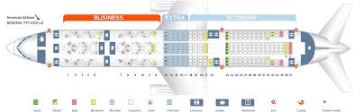 seat map boeing 777 200 american airlines best seats in the plane