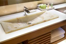 How To Install A Bathroom Sink And Vanity by How To Fit A Vanity Unit Tile Depot Blog